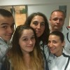 Selfie famille Bourgeois Alexis Manon Sophie Fabrice